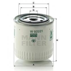 Фильтр масл 2101 MANN W 920