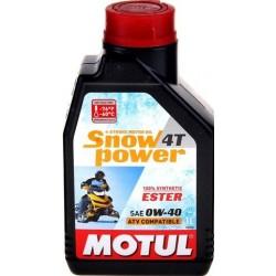 Масло MOTUL Snowpower 4T 0W40 (1л) синт 101230