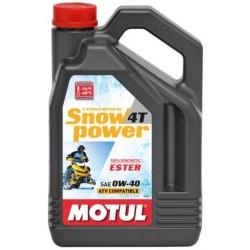 Масло MOTUL Snowpower 4T 0W40 (4л) синт 101231