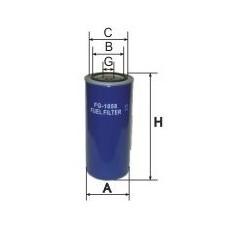 Фильтр топл КАМАЗ дв. 245 ЕВРО-3 GoodWill FG1058