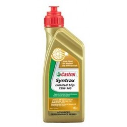 Масло Castrol трансм 75w140 Syntrax Limited Slip (1л) GL-5 синт