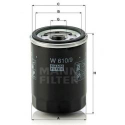 Фильтр масл MANN W 610/9 (Toyota)