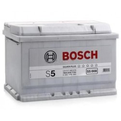 АКБ BOSCH S5 77-R (обратный) (577 400 078) залитый (S5 008)