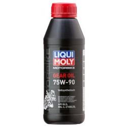 Масло LM трансм для мото 75W90 Motorbike Gear Oil (0,5л) GL-5 синт (арт. 7589)