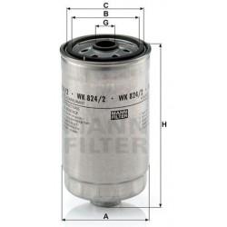 Фильтр топл MANN WK 842/2 (V.A.G u.a.)