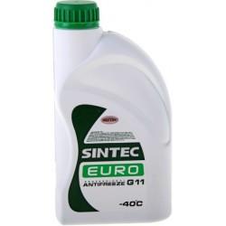 Антифриз Sintec Euro -40 (1кг) зеленый гот