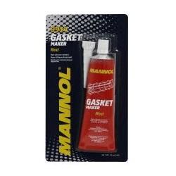 MANNOL 9914 Герметик силиконовый красный высокотемпературный GASKET MAKER Red (80мл)