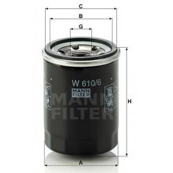 Фильтр масл MANN W 610/6 (Honda)