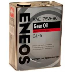 Масло ENEOS трансм 75W90 (4л) GL-5