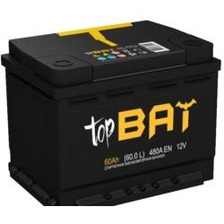 АКБ TopBat 60-R залитый (обратный)