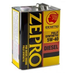 IDEMITSU масло мот 5W40 Zepro Diesel CF (4л) синт