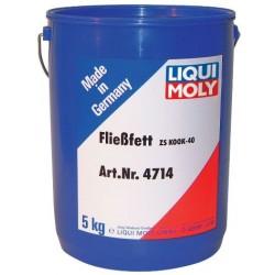 LM 4714 Жидкая консистентная смазка для центральных систем Fliessfett ZS KOOK-40 (5кг) белая
