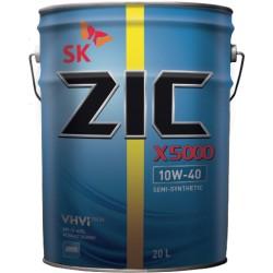 Масло ZIC X5000 10W40 (20л) п/синт