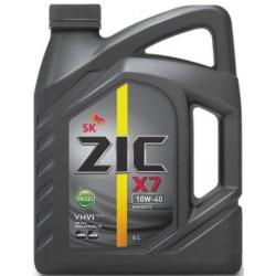 Масло ZIC X7 Diesel 10W40 (6л) синт