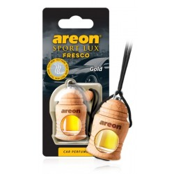 "Дезодорант ""AREON"" FRESCO Sport LUX Золото  (бутылочка на шнурке)  FSL01"