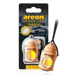 "Дезодорант ""AREON"" FRESCO Sport LUX Серебро  (бутылочка на шнурке)  FSL02"