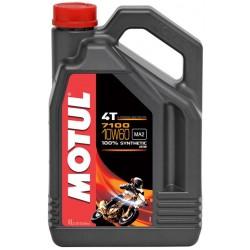 Масло MOTUL  7100 4T 10W60 (4л) синт (мото) 104101