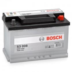 АКБ BOSCH S3 70  (S30 080) (обратный)