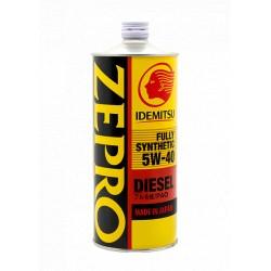 IDEMITSU масло мот 5W40 Zepro Diesel CF (1л) синт