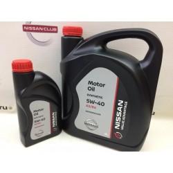 Nissan масло 5W40 (1л) синт KE9009-0042VA ( черная канистра )