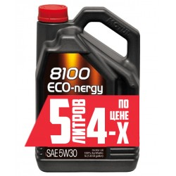 Масло MOTUL 8100 Eco-nergy 5W30 (5л)