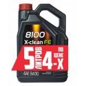 Масло MOTUL 8100 X-clean FE 5W30 (5л)