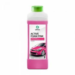 """Автошампунь для бесконтактной мойки GRASS """"Active Foam PINK"""" (1л)"""