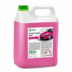 """Автошампунь для бесконтактной мойки GRASS """"Active Foam PINK"""" (6л)"""