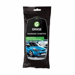 Салфетки влажные для стекол GRASS (30 шт)