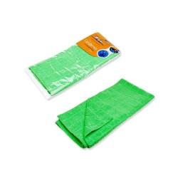 Салфетка из микрофибры AIRLINE зеленая (50*70см)