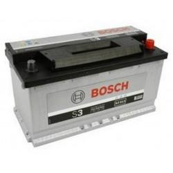 АКБ BOSCH S3 90-R (обратный) (590 122 072) залитый (S3 013)