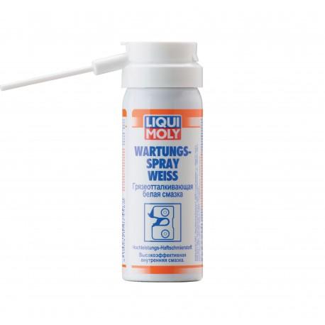 LM Грязеотталкивающая белая смазка Wartungs-Spray weiss (0,05л)