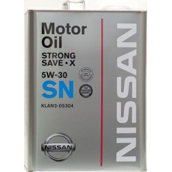 Nissan масло 5W30 Strong Safe-X SN (4л) п/синт 305304
