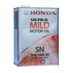 Honda масло 10W30 Ultra MILD-SN (4л) 08219-99974