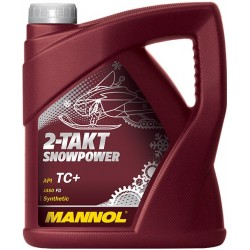 Масло моторное Mannol 2-TAKT SNOWPOWER (4л)