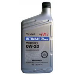 Honda масло 0W20 SN (0.946л) 08798-9037 синт