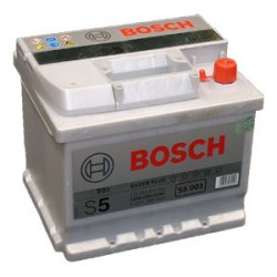 АКБ BOSCH S5 52-R (обратный) (552 401 052) залитый (S5 001)